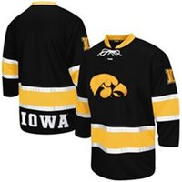 Vincustom Iowa Hawkeyes Colosseum Machine Athletic Machine Hockey Sweater Jerseys cousu n'importe quel nom A