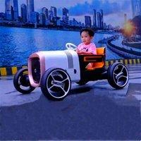 Elektryczny czterokołowy czterokołowy pilot zdalnego sterowania samochodem zabawki może siedzieć w dużym i małym chłopcu Dual Drive Wózek wózek