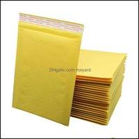 Packing Office School Business & Industrialkraft Paper Bubble Mailers Custom Waterproof Clothing Packaging Bag Self Sealing Package Envelope