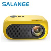 Salange M24 proiettore Mini LCD LED PROYECTOR 2500 Lumen 640x360 Pixels Best Video Beamer per bambini