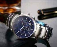 Hot Selling Top Factory New AR2434 AR2448 AR2454 AR2453 AR2458 Chronograf Watch Classico Mens Zegarek Ze Stali Nierdzewnej Mężczyźni
