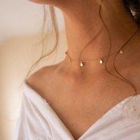 Colares de pingentes Colar de colar de cross requintado, símbolo religioso pingente dourado, senhoras boêmio