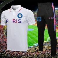 Paris Messi Erkekler Jersey Futbol Eğitimi Eşofman Futbol Eşofman Takım Formalar Setleri 2021 2022 Erkek Çocuk Chandal Futbol Survetement Ayak Jogging Ceket Kitleri
