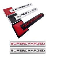 Autocollants de badge en métal de voiture Auto Emblem Stickers Accessoires pour logo suralimérés pour Volvo Lexus Subaru BMW Audi Ferrari MG