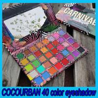 02020 Hot Cocourban 40 Couleurs Pauche Pauche Palette Matte Shimmer Eyeshadow Eye Maquillage Cosmétiques Maquillage Livraison Gratuite