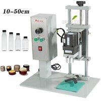 Máquina de selagem de frasco de perfume de perfume pneumático máquina de tampo de perfume máquina de perfume máquina de selagem máquina de bloqueio