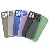 Iphone 13 Case 12 Pro Max Phone Cases For 11 SE Shockproof Matte XR XS X 6 7 8 Plus Translucent Cover