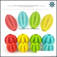 Chews Dog Supplies Home & Gardenfunny Teeth Cleaning Ball Food Dispenser Natural Rubber Dental Treat Oral Toy Chewing Toys For Pet Health Ca