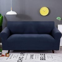 Chair Covers High Quality Velvet Sofa Cover For Living Room All-inclusive Knitted Stretch Couch Case Home Decor Slipover