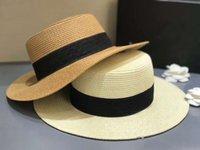 السيدات خمر واسعة بريم فيدورا سترو كاب بنما قبعة الصيف الشاطئ قبعة الشمس