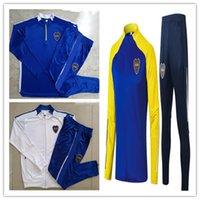 2022 Boca Juniors Soccer Bracksuit Football Jacket 21/22 Maradona Gago Osvaldo Carlitos Perez de Rossi Tevez Pavon JRS Windbreaker التدريب ارتداء