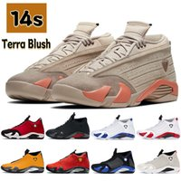 14 14s mens Basketball Shoes terra blush black anthracite gym red turbo indiglo hyper royal University Gold men trainers sneakers US 7-13