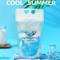 Plastic Drink Pouches Clear Disposable Stand Up Food Container Frosted Juice Beverage Milk Coffee Smoothie Drinking Bags Kitchen Drinks Storage Packing Bag
