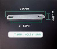 10 stücke 2mm Dicke 68mm Eve 280Ah 3.2V LF280 CALB Connection 72mm Busleiste für Batterie