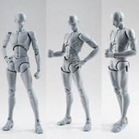 Artista arte pintando anime figura shf boceto dibujar masculino hembra movible cuerpo acción figura juguete modelo dibujar maniquí