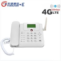 WiFi Router 2G / 3G / 4G LTE GSM Bordless Fixless Voice Call Desk Telefono telefono fisso Telefono Wireless Modem 4G SIM card booster 210607