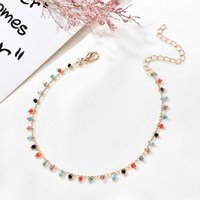 Anklets Fashion Ankle Bracelets For Women Beach Accessories Bracelet Stainless Steel Leg Sandals Foot Jewelry