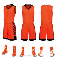 Discount Cheap men Training Basketball Sets With Shorts Uniforms reversible basketball jerseys for that home and away look kits Sports 44-39