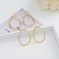 Jaeeyin 2021 мода модный модный поворот круги 2 в 1 обруча вручения латунные проволоки золота цвет новых поступлений ювелирных изделий подарок для женщин