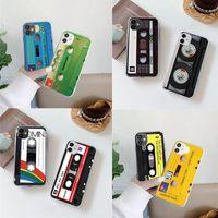 Handy-Taschen für Huawei p30 P20 lite pro p smart 2021 y9 prime y6 y7 nova 6 se 2i klassisches altes kassettenband silikon mode hüllen
