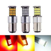 Emergency Lights 10 Pcs LED 1156 Ba15s P21W 1157 Bay15d P21 5W Car Turn Signal Lamp T20 7443 W21 5W T25 3157 P27 7W Brake Light 12V Auto Bul