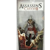 23cm Assassin's Creed Figure Connor Action Figuren Super bewegliche Gelenke PVC Figuren Colice Toys Anime Decoration T200304