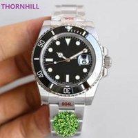 TOP N Factory Luxe Mens Watches ETA 2836 Sapphire Fashion Automatic Mechanical Movement Watch Ceramic Bezel Model Stainless Steel Waterproof Wristwatch