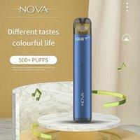 Original Iget Nova Disposable Pod E-cigarette Device Kit 500 Puffs 350mAh Rechargeable Battery 2ml Replaceable Prefilled Cartridge Vape Pen VS Shion Plus Bang
