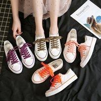 2021 Schoenen Dames Lente en Zomer Low-Cut Koreaanse Canvas Schoen Casual Tide Brand Ins Student Rubber Sneakers