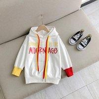 Jargazol الخريف الاطفال الملابس إلكتروني مطبوعة البلوز طفل الفتيات قمم الأطفال لطيف بلوزات أزياء طفل أطفال هوديس معطف
