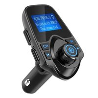 T11 Car Bluetooth Car MP3 Kit LCD Display Hands-free Call Support FM Transmitter Aux Modulator Micro SD TF Card Music Playing Car Charger