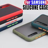 Funda de teléfono simple para Samsung Galaxy Note 8 9 10 20 S30 S20FE S8 S9 S10 PULS S20 A51 A71 A7 A9 A10S A30 A30 A40 A 50 A70 A30 CUBIERTA DE SILICONA A30 A30S
