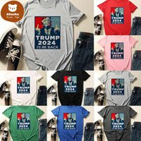 TRUMP 2024 I WILL BE BACK T shirt XS-4XL Plus Size Designers Tshirts Summer Unisex Sports Tee Sweat Tops US President Election Clothing Tiktok NEW rs