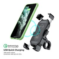 Motorbike X-Grip motorcycle phone holder QI USB Wireless Charging Moto Telephone Support Cell Mobile Smartphone GPS Mount