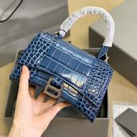 Женская сумка 2020 Интернет знаменитость же стиль натуральные кожаные песочные часы сумка B- Функция Сумка женская сумка
