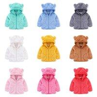 Jackets Jumping Meters Arrival Winter Fleece Boys Girls Hoodies 2-6T Baby Zipper Long Sleeve Children's Outwear Coats