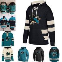 65 Erik Karlsson Men S San Jose Sharks Custom Jersey Hoodie Auténtico Sudaderas Sudaderas Camisetas de invierno Sudaderas
