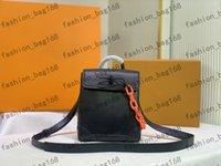 2021 Atacado Desigenr Moda Mulher Bolsas Crossbody Black Leather Brown Flores Catwalk Estilo Bolsa Mini Sacos