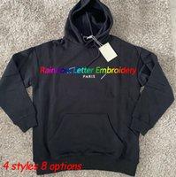 Erkek Hoodie Kadınlar Spor Mektup Kazak Rahat Klasik Hoodies Kazak Uzun Kollu Streetwear Moda Asya Boyutu M-XXL 8 Seçenekler Giyim
