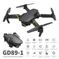 글로벌 드론 GD89-1 무인 항공기 120도 광각 카메라 4K HD 공중 사진 Quadcopter 원격 제어 비행기
