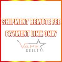 Enlace de pago para tarifas remotas de envío, costo adicional para el envío