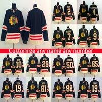 새로운 시카고 BlackHawks 하키 유니폼 2015 클래식 RBK 유니폼 망 Custom 모든 번호 모든 숫자 하키 유니폼