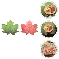 Mats & Pads 4pcs Household Thanksgiving Placemats Decorative Tabletop (Assorted Color)