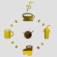 Wall Clocks Clock Reloj De Pared Watch Horloge Large Decorative Relojes Duvar Saati Quartz Living Room Acrylic Europe