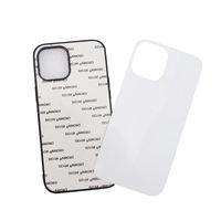 2D Sublimação Caixa de telefone em branco PC para iPhone 12 11 Pro Max XS XR XS Capa traseira Max com folha de alumínio