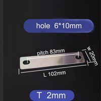10 stücke Kupfer-Sammelschienen miteinander für Lithium Calb Catl Batterieloch 83mm