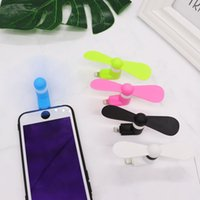 Phone USB Fan mini fans Flexible Portable Cooler Cooling for Type C Android iphone USB Gadgets