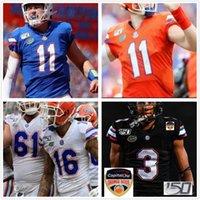 Benutzerdefinierte Florida Gators College Football genäht Jersey Tim Tebow Aaron Hernandez Emmitt Smith Josh Hammond Männer Frauen Jugend Trikots