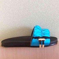 Bayan Yeni Moda Saten Düz Slayt Terlik Yaz Konfor Platformu Katır Sandal