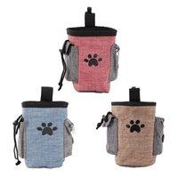 ZL Hund behandeln Beutel Haustier Handfreie Training Wandertasche Hunde Outdoor Portable Rucksack Träger Snack Wurf Bag Taillenpack 1 stücke